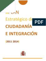 Plan Estratégico de Ciudadanía e Integración 2011-2014