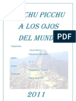 Machu Picchu a Los Ojos Del Mundo