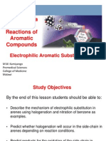 9-Electrophilic Aromatic Reactions