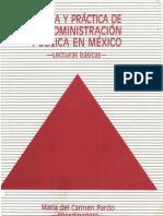 Teoria y práctica de la administración pública en México