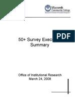 50 survey executive summary