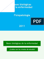 Bases Biologic As de La Enfermedad
