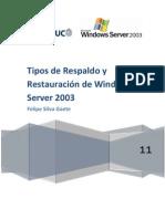 informe win2003