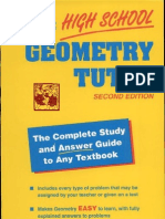 The High School Geometry Tutor