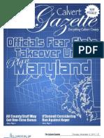 2011-11-17 Calvert Gazette