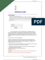 Membuat Halaman Login pada PHP