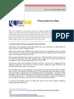 Mercado del vino en China