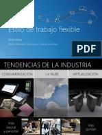 Deck_Flexible Workstyle CASETEL-Microsoft