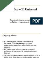 EUtrafico - El Universal-2011
