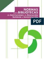Normas Para Bibliotecas de Las Instituciones de Educacion Superior e Investigacion 05