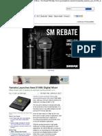 Live Sound_ Yamaha Launches New 01V96i Digital Mixer - Pro Sound Web