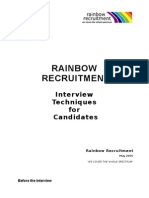 Interview Techniques for Candidates