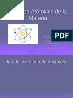 Modelos Atómicos de la Materia