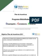 Plan Incentivos a o 2011