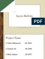 Sports Bulletin