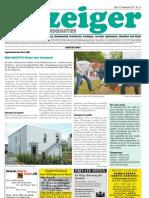 Anzeiger für das Nordquartier, Breitsch-Bern (CH), Ausgabe 21 (2011)