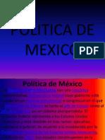 Politica de Mexico