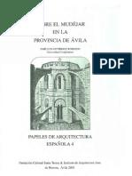 Sobre el mudéjar en la provincia de Ávila