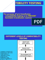 (4)Blood Test Compatibility