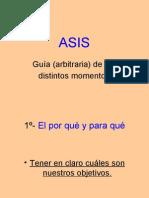 ASIS Pasos Guia