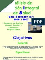 Presentac Asis ASIS Barrio Rivadavia