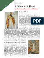S. Nicola di Bari, dal 1290 Patrono e Protettore di Salemi