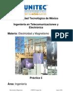 Práctica 4 Inducción electromagnética
