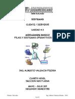Modulo Cliente-Servidor Unidad 3