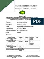 Informe Final Invetigacion Clp Setiembre 2011
