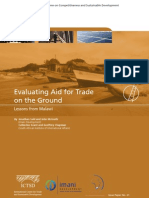 J. Said and J. McGrath - Evaluating Aid for Trade on the Ground Lessons From Malawi [ICTSD]