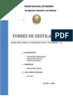 TORRES DE DESTILACION