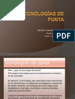 Tecnologías de punta