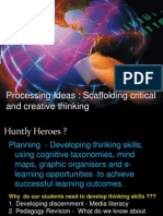 Planning to Develop Critical Thinking - Huntly Heroes