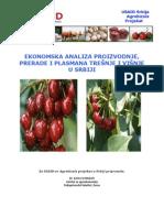 RS_Ekonomska Analiza Proizvodnje i Plasmana Tresnje i Visnje u Srbiji