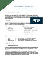 Approcher Les PME Américaines - Document Awex
