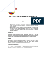 Diccionario Militar Del Ejercito