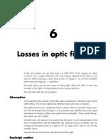 C6 - Perdidas en la Fibra Optica