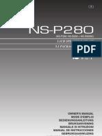 Altavoces Yamaha NS-P280