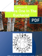 LP G3 Lesson 9-We Are One in the Eucharist