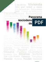 Panorama Sociodemográfico de México
