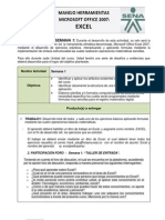 Guia de Trabajo Para La Fase 1 Del Curso de Excel 2007