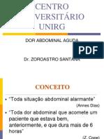 Dor Abdominal Aguda 2011 2