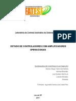 Relatorio de COntrole Automatico_COntroladores PD,PI e PID