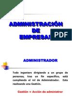 ADM.DE EMPRESAS