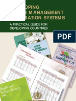Developing Health Management Information Systems
