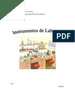 Instrumentos de Laboratorio
