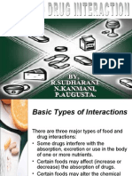 food and drug interaction by kanmani augusta sudharani