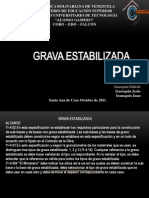 GRAVA ESTABILIZADA