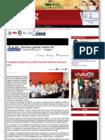 23-11-11 Consiguen diputados priístas dos mil millones de pesos