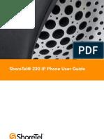 Shoretel ip_230 userGuidei
